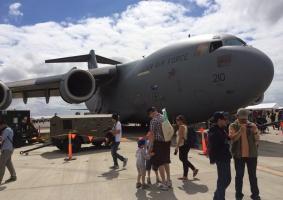 RAAF C-17A Globemaster III, serial A41-210