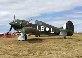'Miss Imogen', an example of Australia's locally-developed 'Boomerang' fighter