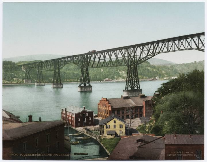 Poughkeepsie Bridge, cc1900