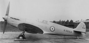 The prototype Spitfire, K5054.