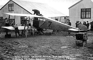 The Avro Type G at Larkhill, August 1912