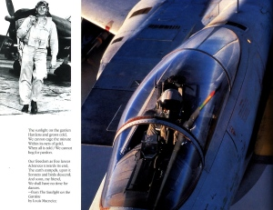 'Fighter Pilot' page 158; USMC Col Bruce Porter, and a Royal Saudi Air Forced F-15