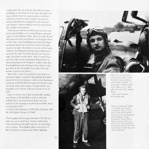 'Fighter Pilot' page 213; Lts William Laubner and Tunis Lyon, 56th FG, 8th AF, 1944.