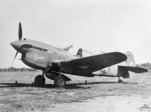 A P-40E of the 7th Pursuit, 49thPG, in March 1942 – so very probably at Bankstown, NSW. (wikipedia)
