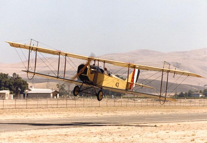 JN-4 Takeoff