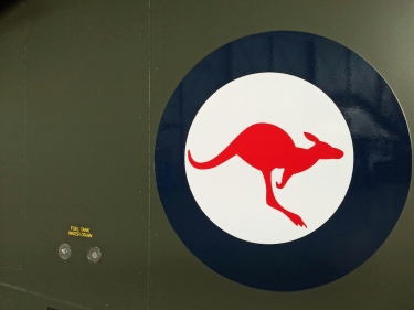 Simple, yet proud – the RAAF's kangaroo roundel. (© airscape Photo)