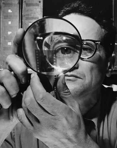 Self portrait. Andreas Feininger, 1946. (Whitney Museum of American Art)