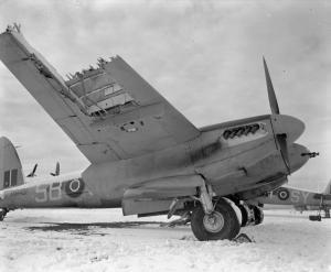 RAAF Mosquito (IWM CE 128)