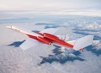A digital impression of the 'inevitable' Aerion AS2 supersonic business jet. Let's hope so... (Aerion)