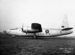 One of the RAF's highly evolved Liberator C Mk.IX transports, JT978. This aircraft served on the North Atlantic run, and was handed over to the US Navy after the war. (IWM 15081C)
