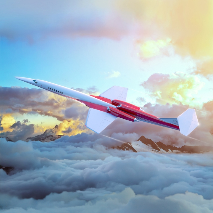 Coming soon... maybe. The Aerion AS2 supersonic business jet (SSBJ). (Aerion Corp)