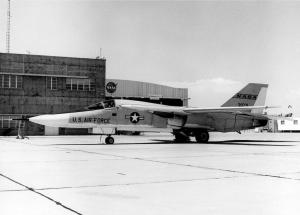 NASA used F-111A #63-9771 to help General Dynamics resolve the inlet issues that dogged the big bomber for the first two years of its life. (NASA Photo)