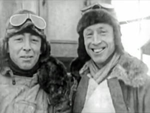 Australians Ross and Keith Smith, who flew their Vickers Vimy bomber an astonishing 11,130 miles from England to Australia in 1919.