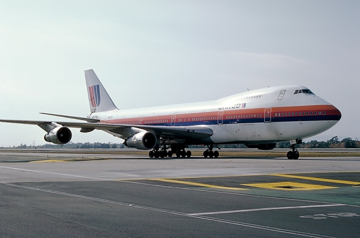 Back in it's heyday, #19875 as N4713U at LAX, in April 1982. (Ted Quackenbush | airliners.net via wikipedia)