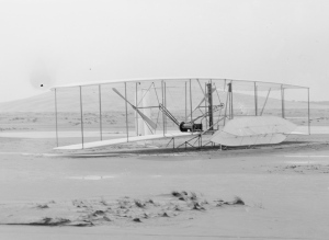 Wright Flyer after flights