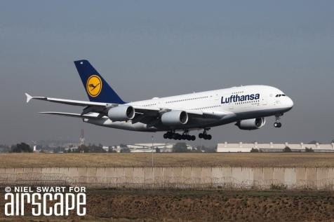 Lufthansa A380 D-AIMG