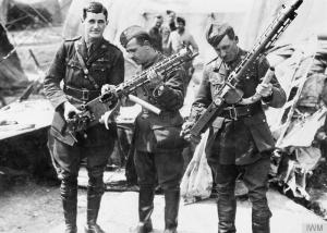 Red Baron's Spandau guns