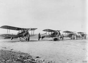 SE5a, Australian Flying Corps