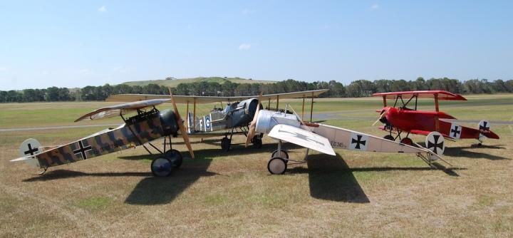 The growing TAVAS flying collection. (© TAVAS)