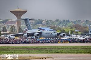 USAF Globmaster at AAD2016