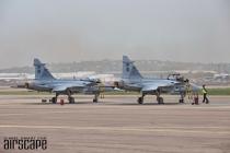 SAAF Gripens at AAD2016