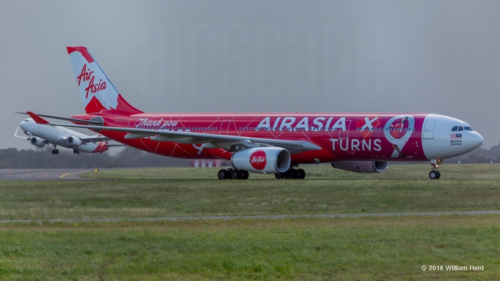 Air Asia X 9th anniversary A330