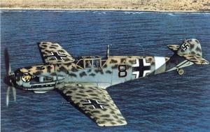 Me.109E of Lt. Werner Schror