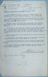 RAAF report on 40-2376