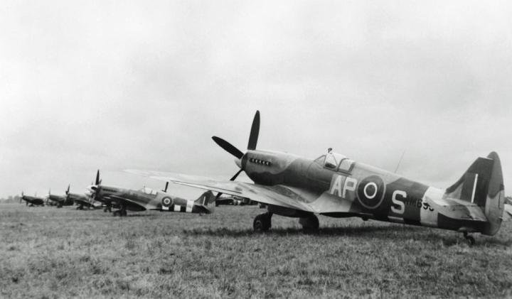RAF Squadron Spitfire XIVs