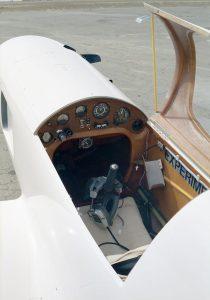 Arnold AR-5 cockpit