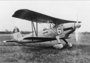 The venerable Arado Ar.68 was a forerunner of the nachtjagder force, operating as a night fighter into December 1939. (US National Archives RG 242)