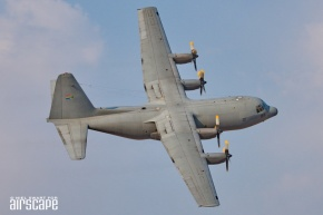 Still going strong, this venerable C-130BZ Hercules, of No.28 Squadron SAAF, originally left Lockheed as a C-130B (cn 402) in 1963! (© Niel Swart)