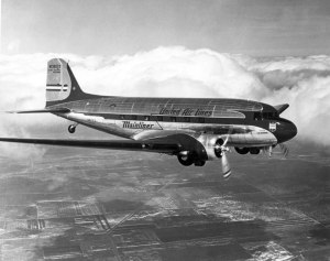 United Airlines DC-3