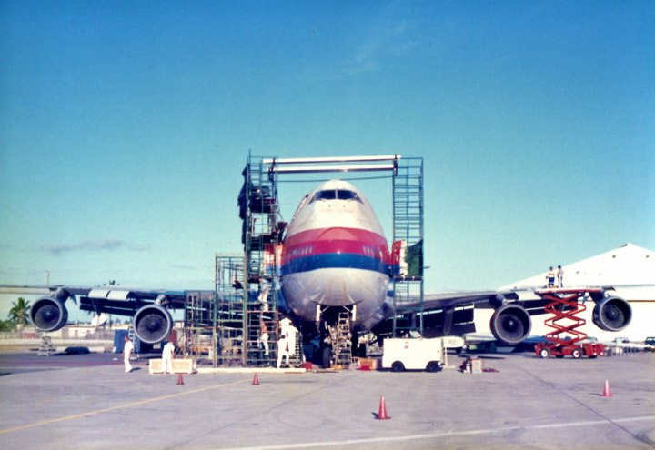 United 811 aviation accident repair