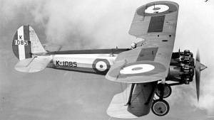 "With 18"" added to the fuselage to correct its spinning vices, the Bulldog went on to serve with the RAF, FInland (wearing swastikas!), Australia the US Navy, and others. (wikipedia)"
