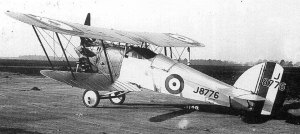Beginning a line that would lead to the Hurricane, the Hawker Hawfinch was the first Sydney Camm design to use metal tube-and-plate construction with fabric covering. Only one was built. (wikipedia)