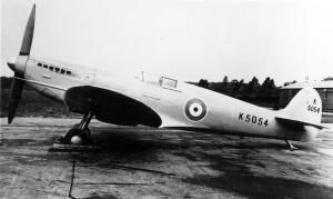 Back to where it all began... Spitfire prototype K5054, or Supermarine Type 300 – as a comparison to the Mk.24 shown above. (SDASM #01-00092402)