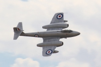 The hugely successful Gloster Meteor, Britain's frontline jet fighter of WW2 and many years after. (© airscape photo)
