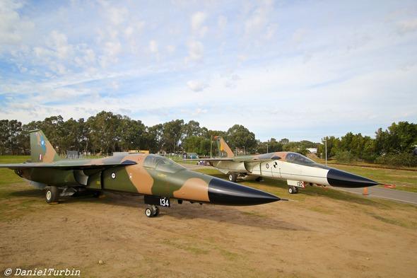 Two RAAF F-111 Aardvarks in Adelaide